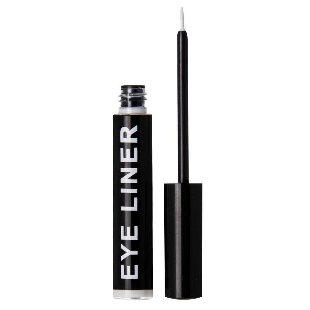 Vloeibare eyeliner zwart. Liquid eyeline