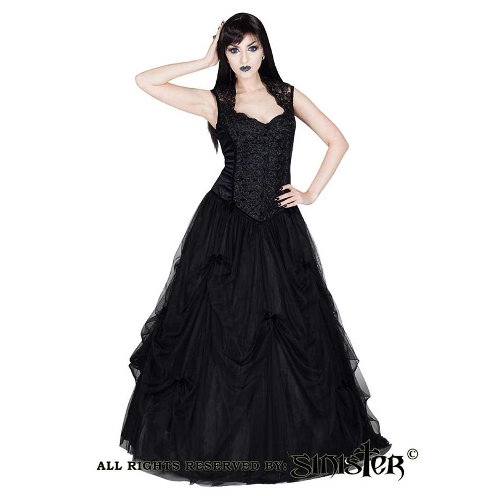 Raylene fluwelen lange jurk met Queen An