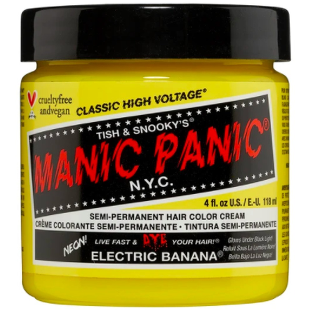 Electric Banana, classic semi permanente