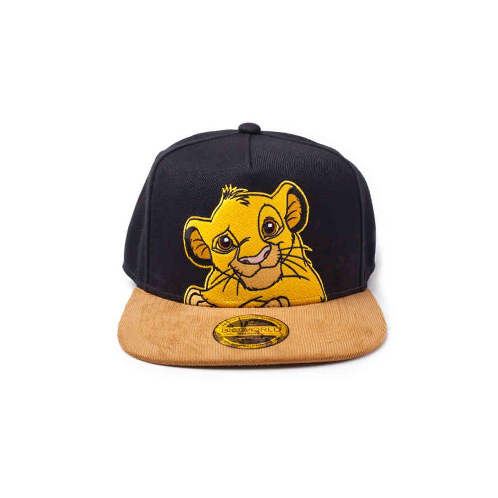 Disney The Lion King Simba Snapback Cap Blackbrown Attitude Euro