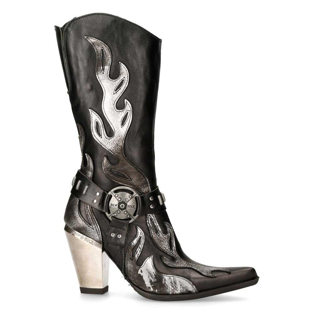 Boot M.7901-S2 cowboy laars- gothic, met