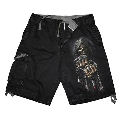 Game Over vintage shorts black - Spir