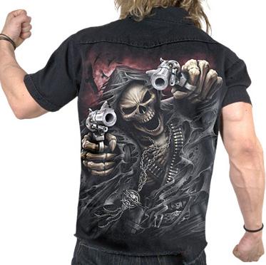 Assassin, gothic fantasy metal skelet wo