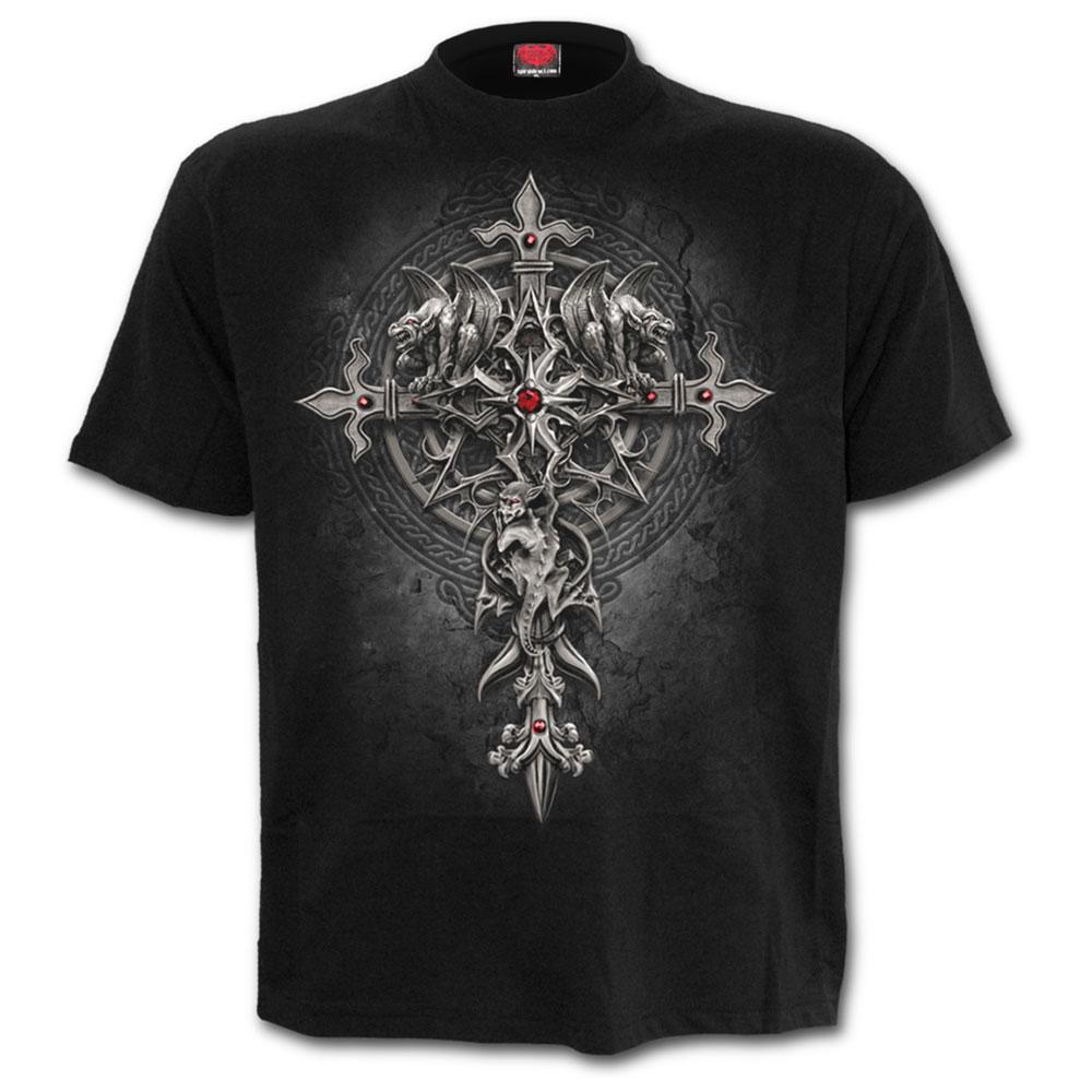 Custodian, gothic metal fantasy gargoyle