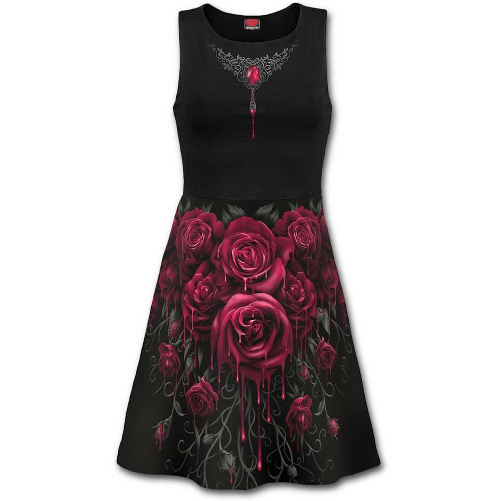 Blood Rose, gothic metal fantasy rozen m