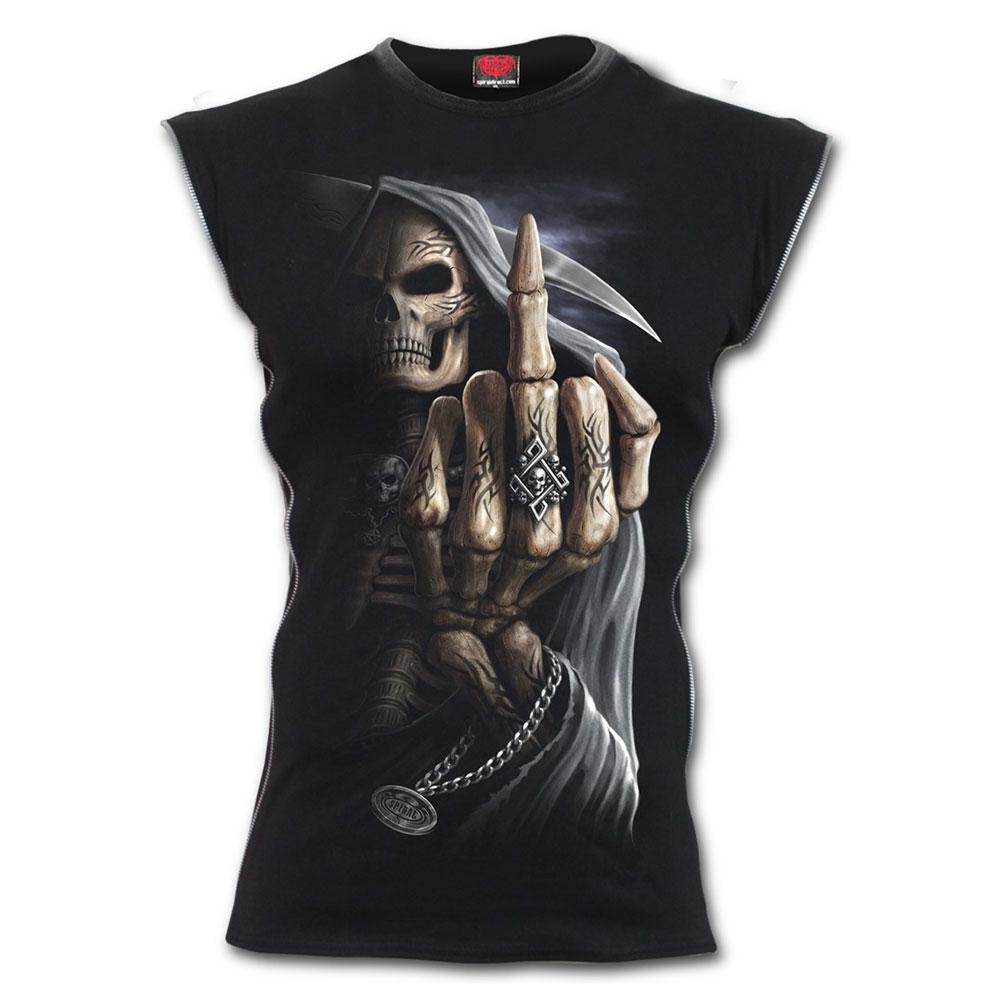 Bone Finger, gothic metal fantasy skelet