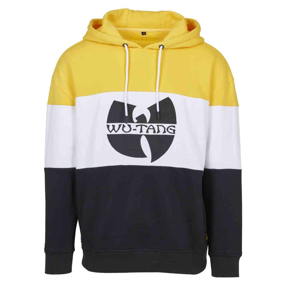 22cacf27fd Urban Classics Wu-Wear Block Hoody black   white   yellow
