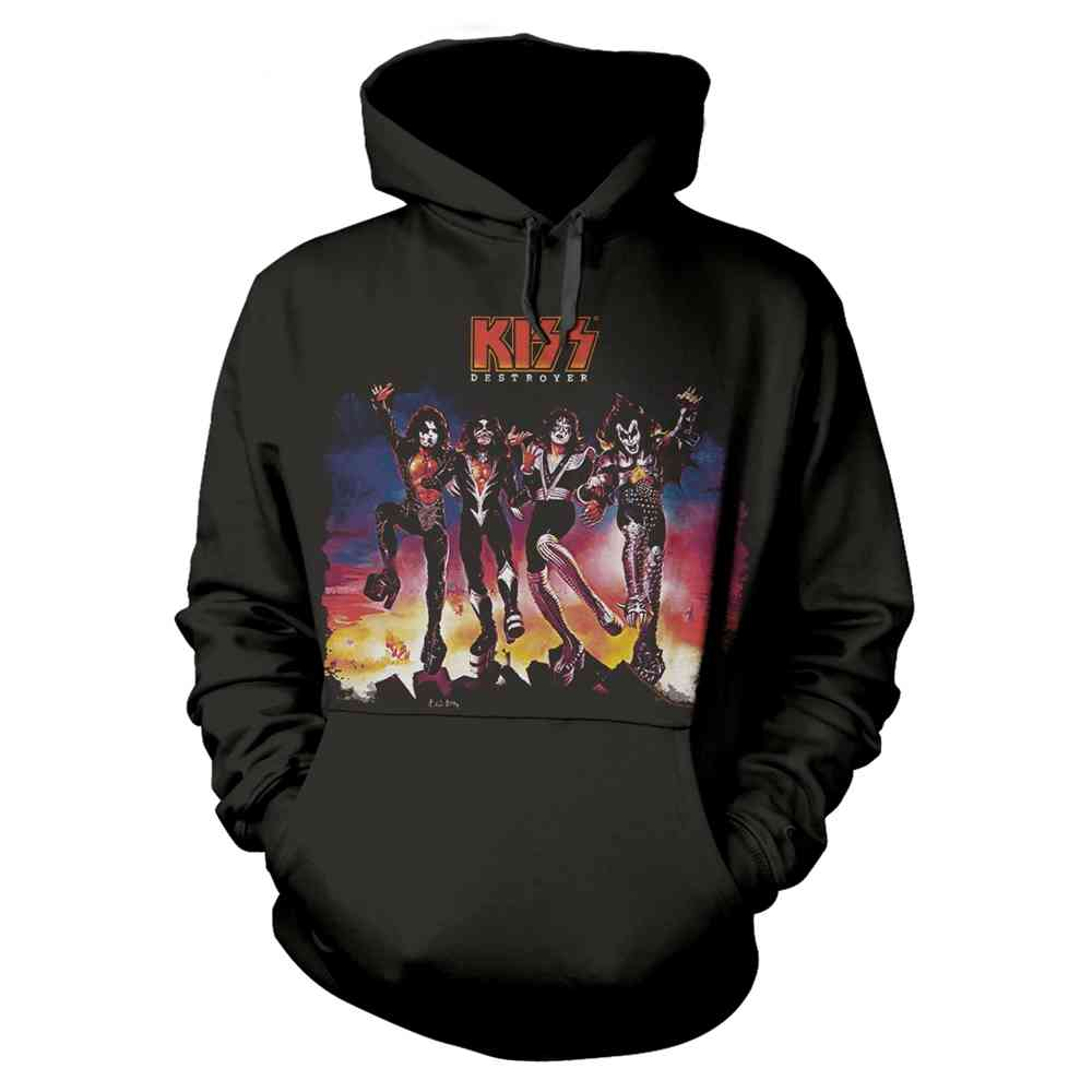 Unisex Official Kiss Army Band Knitted Jumper Sweatshirt Top Sweater Ultrakult